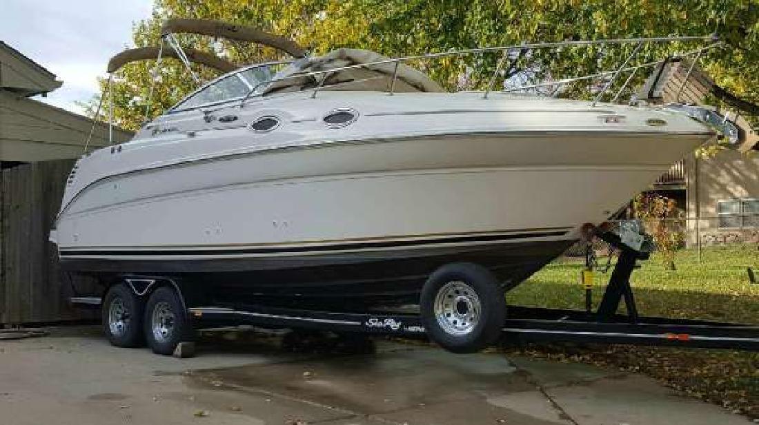 2001 Sea Ray 260 Sundancer Cruiser Omaha NE
