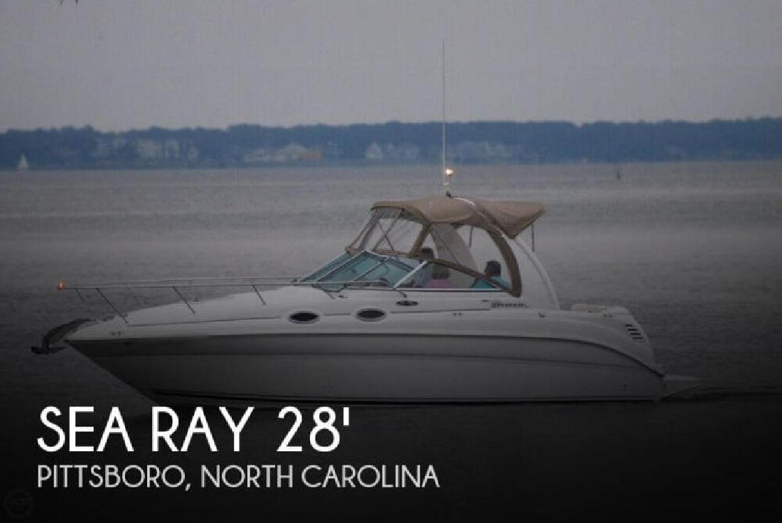 2004 Sea Ray Boats 260 Sundancer New Bern NC