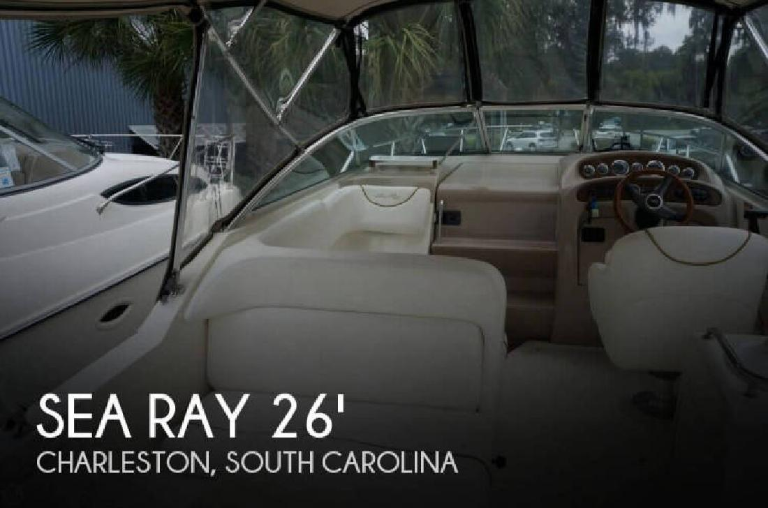 2000 Sea Ray Boats 260 Sundancer North Charleston SC
