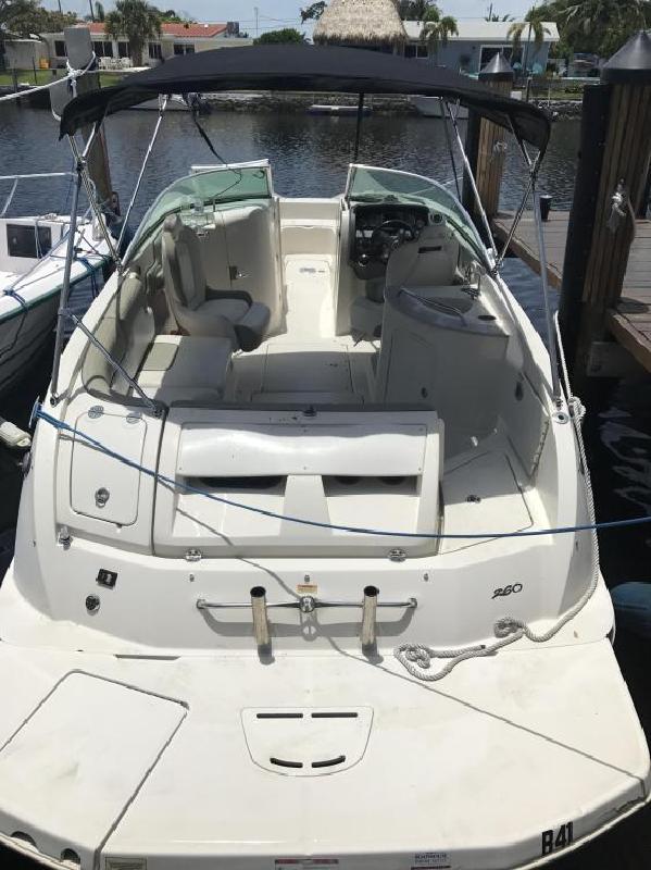 2007 Sea Ray Boats 260 Sundeck Pompano Beach FL