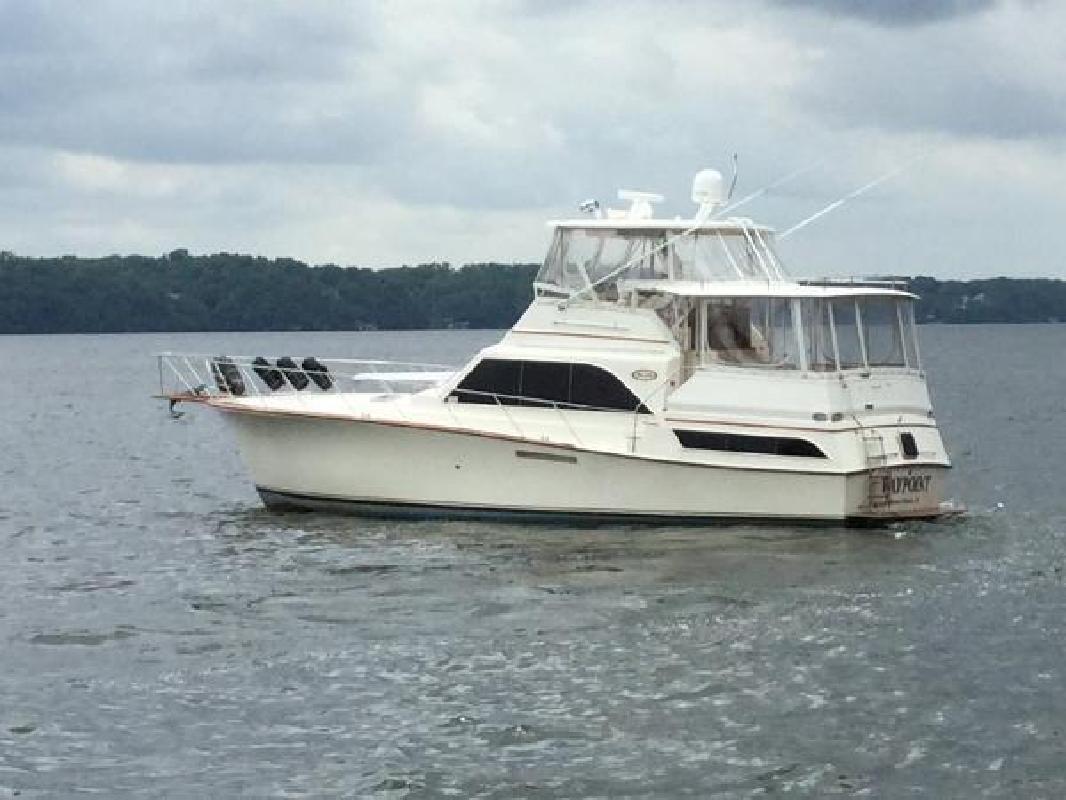 1985 Ocean Yachts 46 Sunliner Killen AL