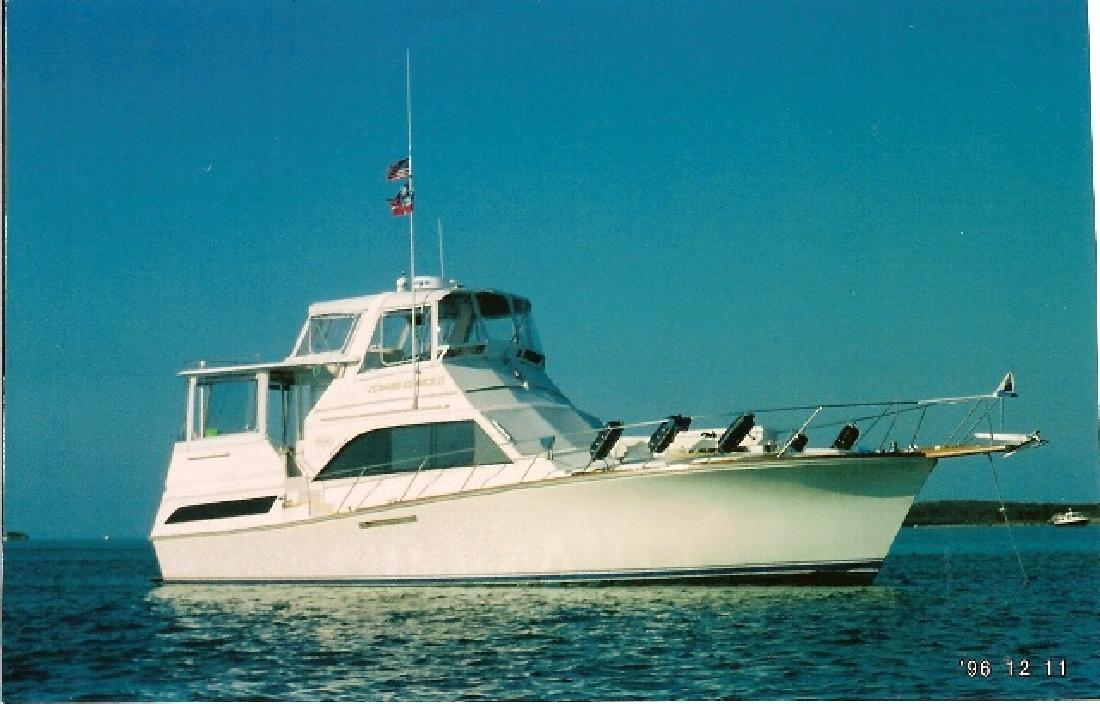 1984 46' Ocean Sunliner M/Y in Murrells Inlet, South Carolina