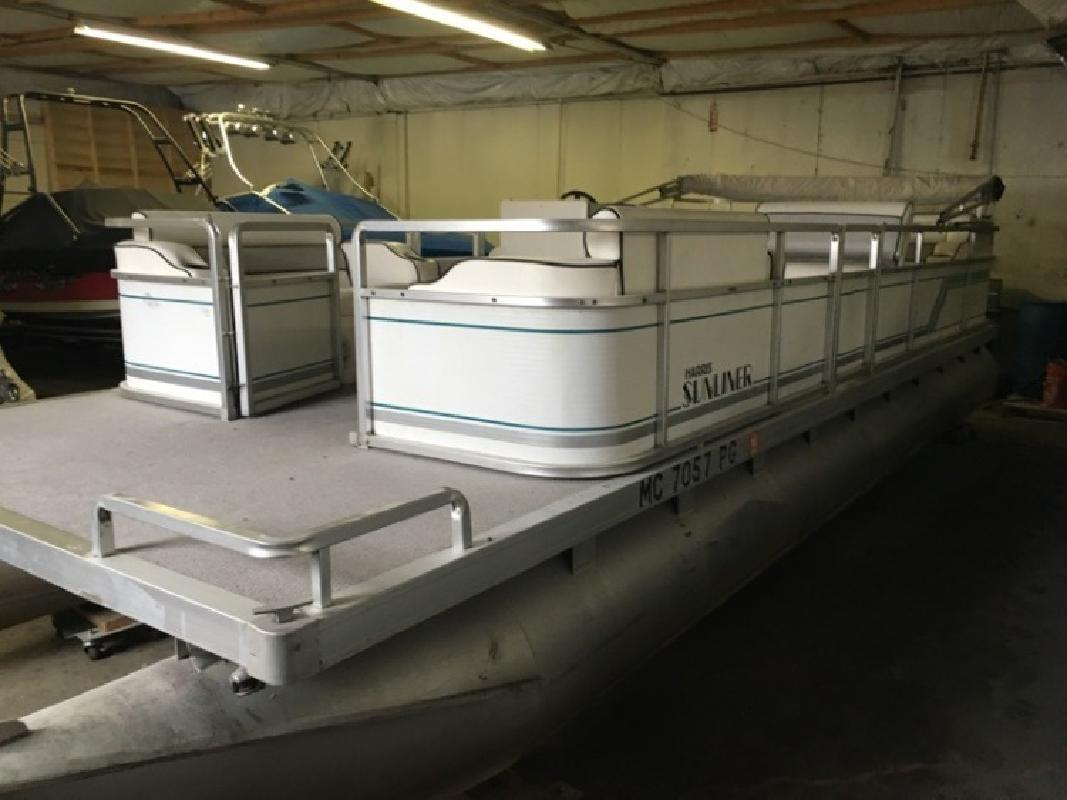 1991 Harris FloteBote Sunliner Waterford MI
