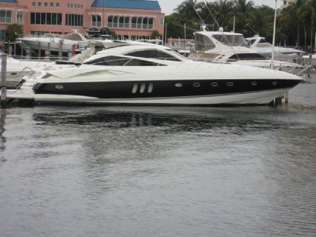 2005 68 Sunseeker Predator For Sale In Miami Florida