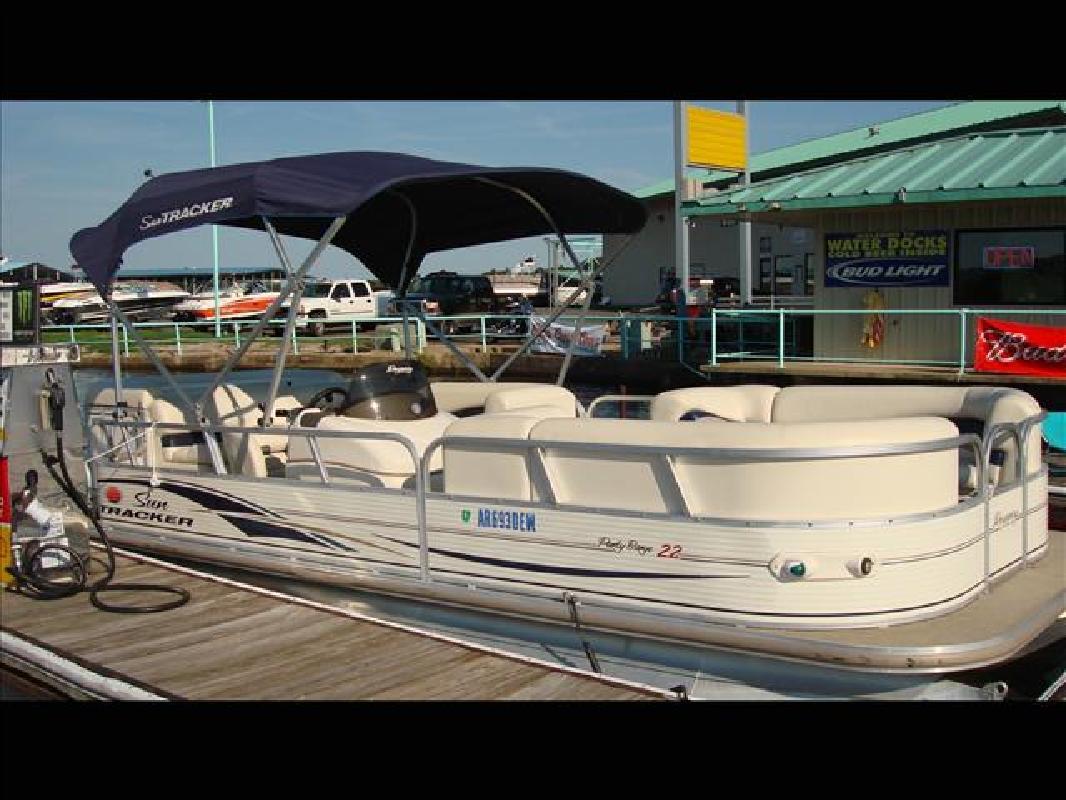 Pontoon boat for sale hot springs ar 2014