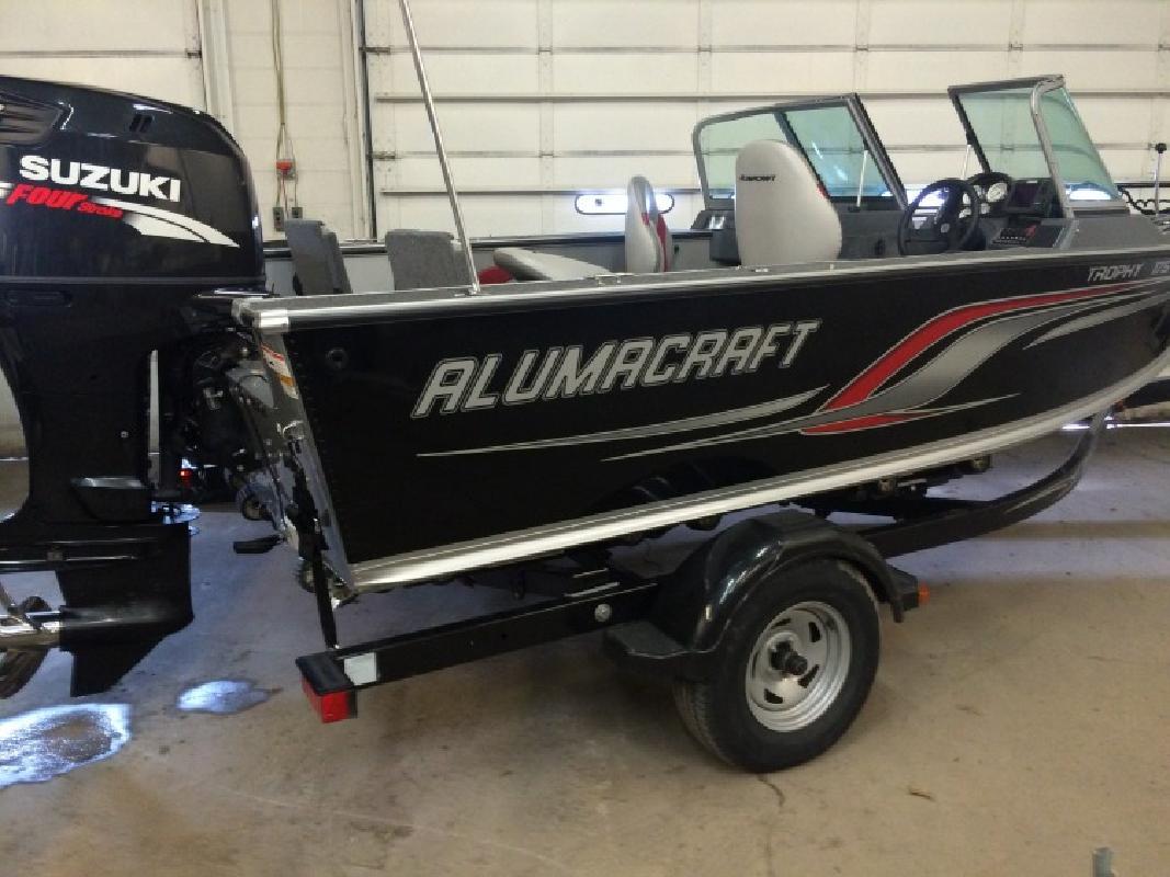 2011 - Alumacraft Boats - Trophy 175 Suzuki 150 trlr in Bloomington, MN