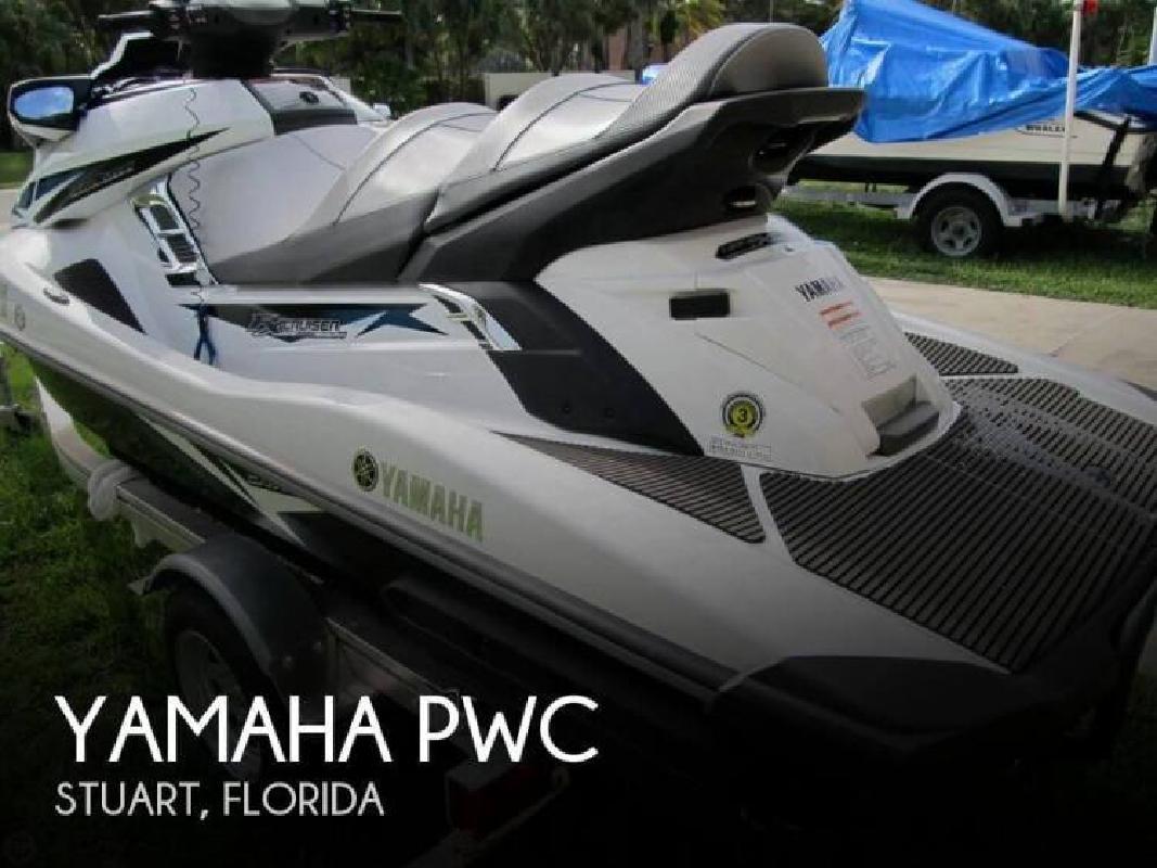 2015 Yamaha Waverunner FX SVHO Cruiser Stuart FL