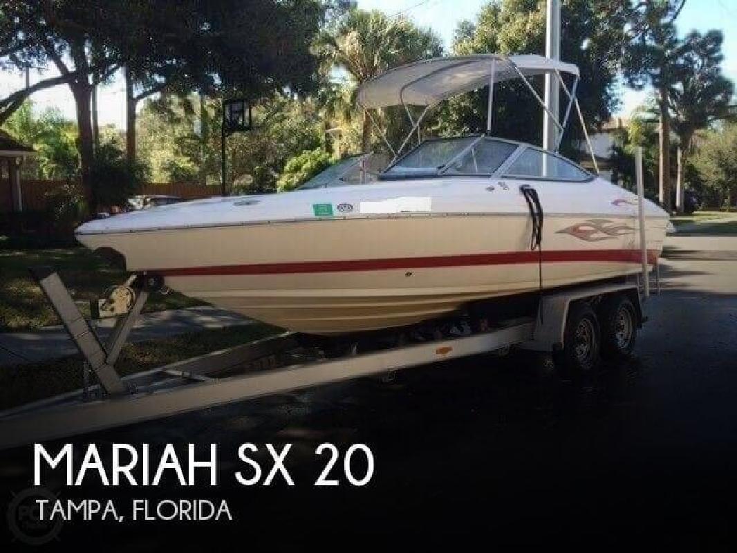 2006 Mariah Boats 21 SX Tampa FL