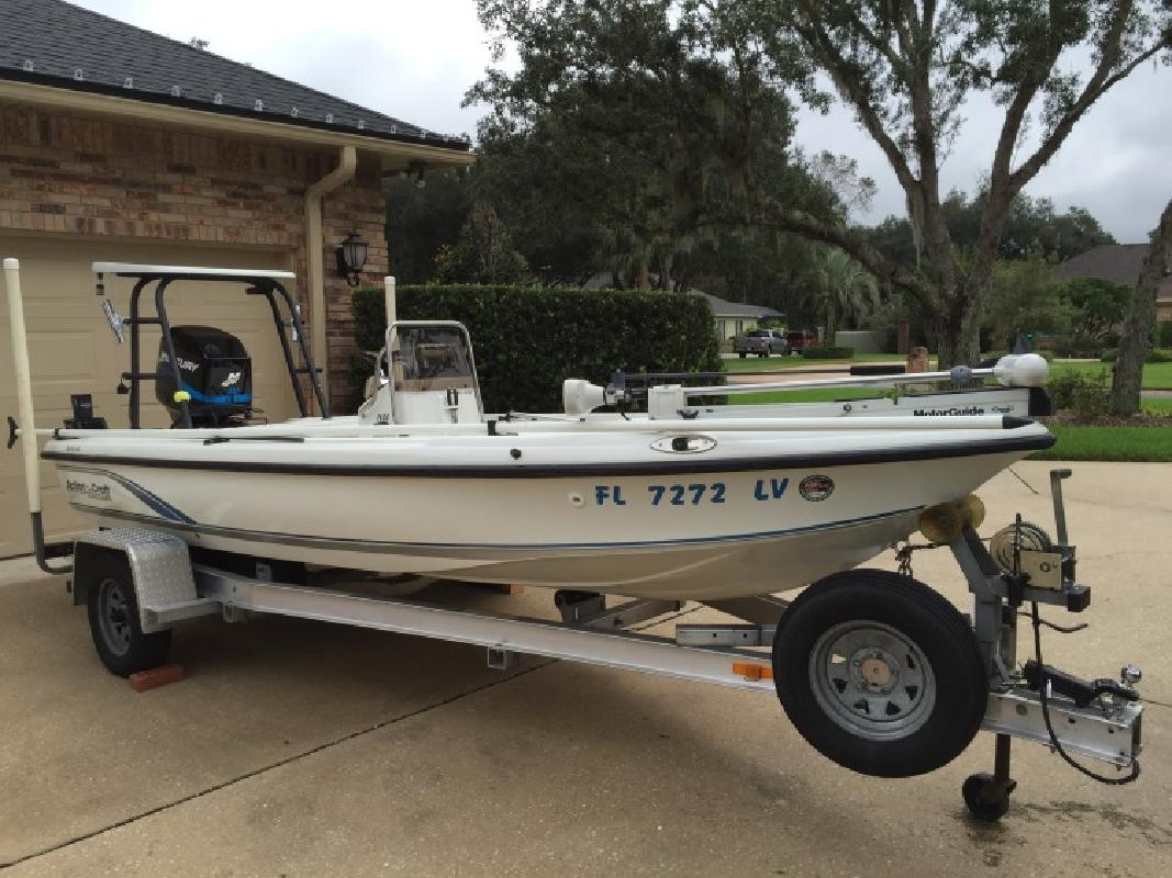 Action Craft 1600 Fly Fisher TE 2002 excellent condition