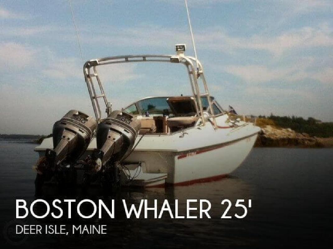 1988 Boston Whaler 2500 Temptation Deer Isle ME