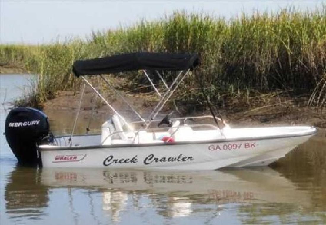 $12,500 2008 Boston Whaler (Less than 50 hours)