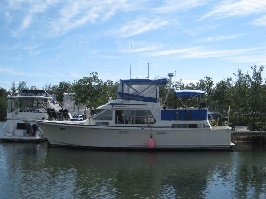 1990 44' Tollycraft Cpmy for sale in Key Largo, Florida | All Boat Listings. ...