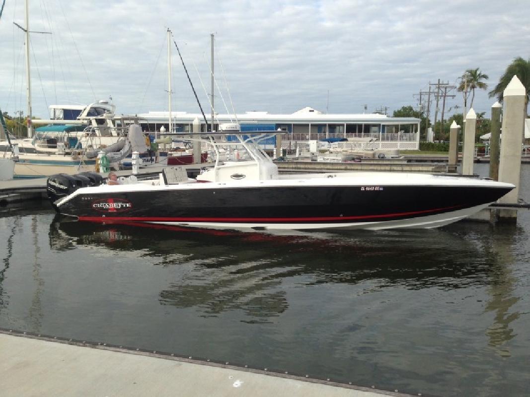 2012 Cigarette Racing Team 39 Top Fish Pompano Beach FL