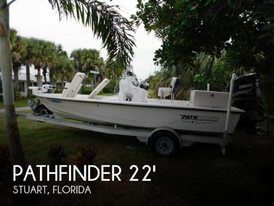 2005 Pathfinder Boats 2200 Tournament Edition Stuart FL