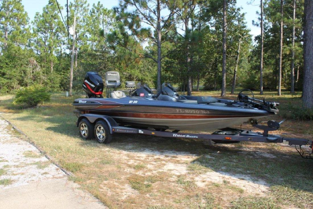2002 20' triton boats tr 20 dc in crestview, florida