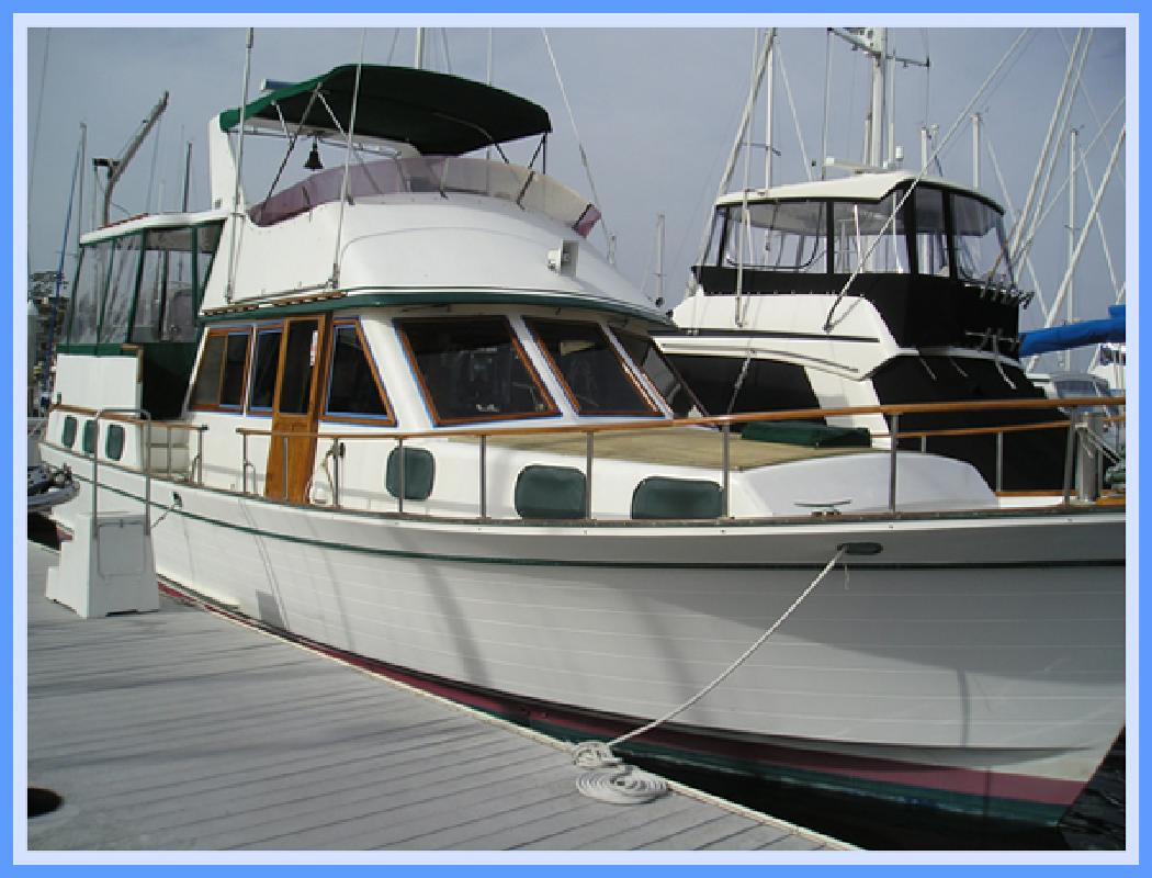 1981 43 39 marine trader la belle for sale in san diego for Fishing boats for sale san diego