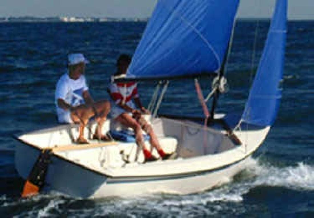 $5,200 2005 Precision Sailboat & Trailer