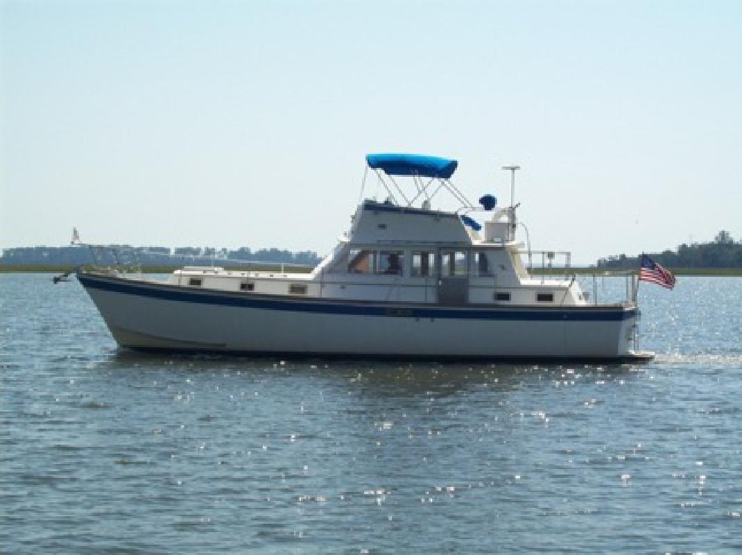 $57,500 Gulfstar 43 Trawler