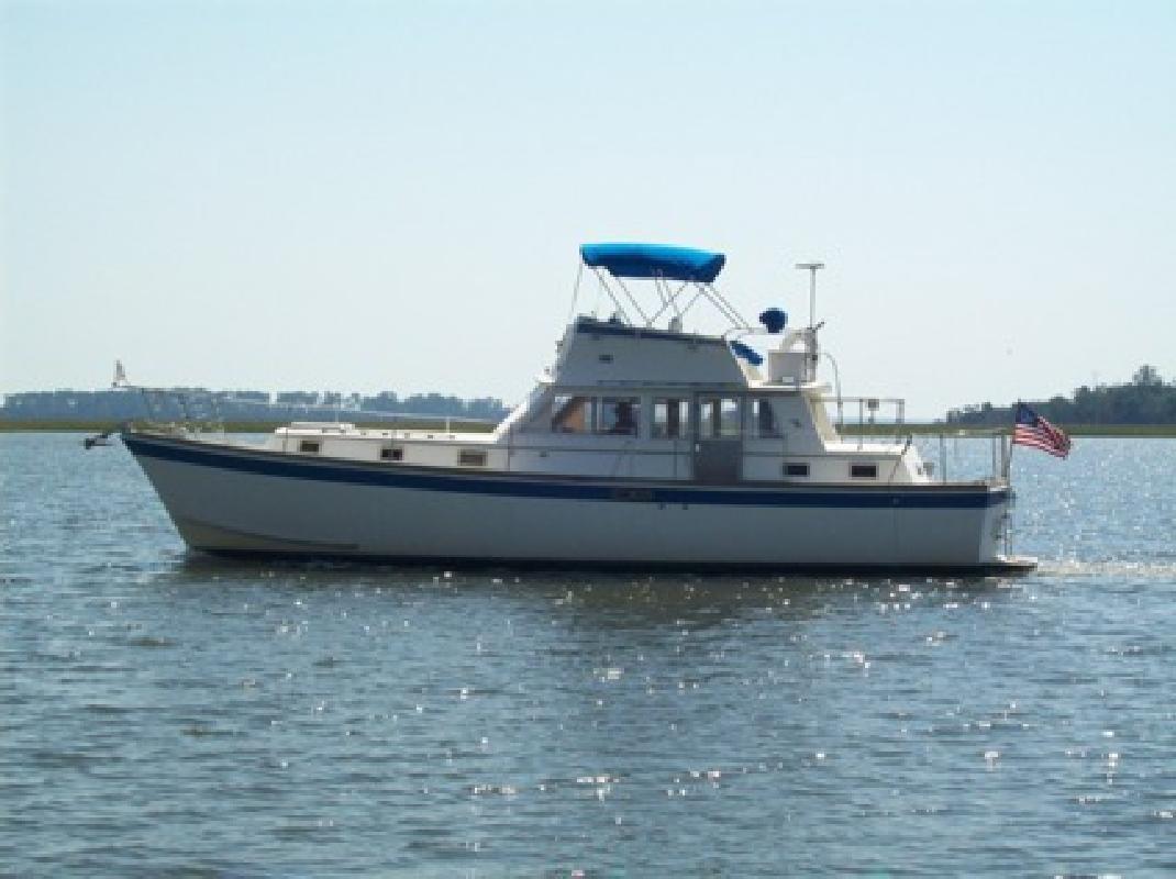 $52,000 Gulfstar 43 Trawler