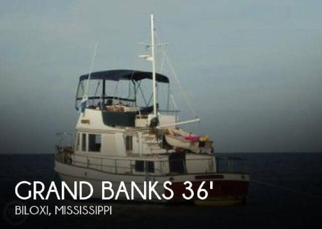 1982 Grand Banks 36 Trawler Biloxi MS