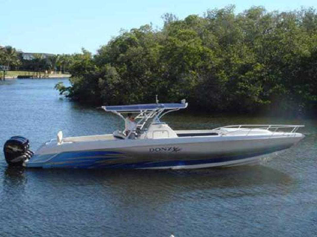 Donzi 38 w triple verado for sale in fort myers florida for Donzi fishing boats