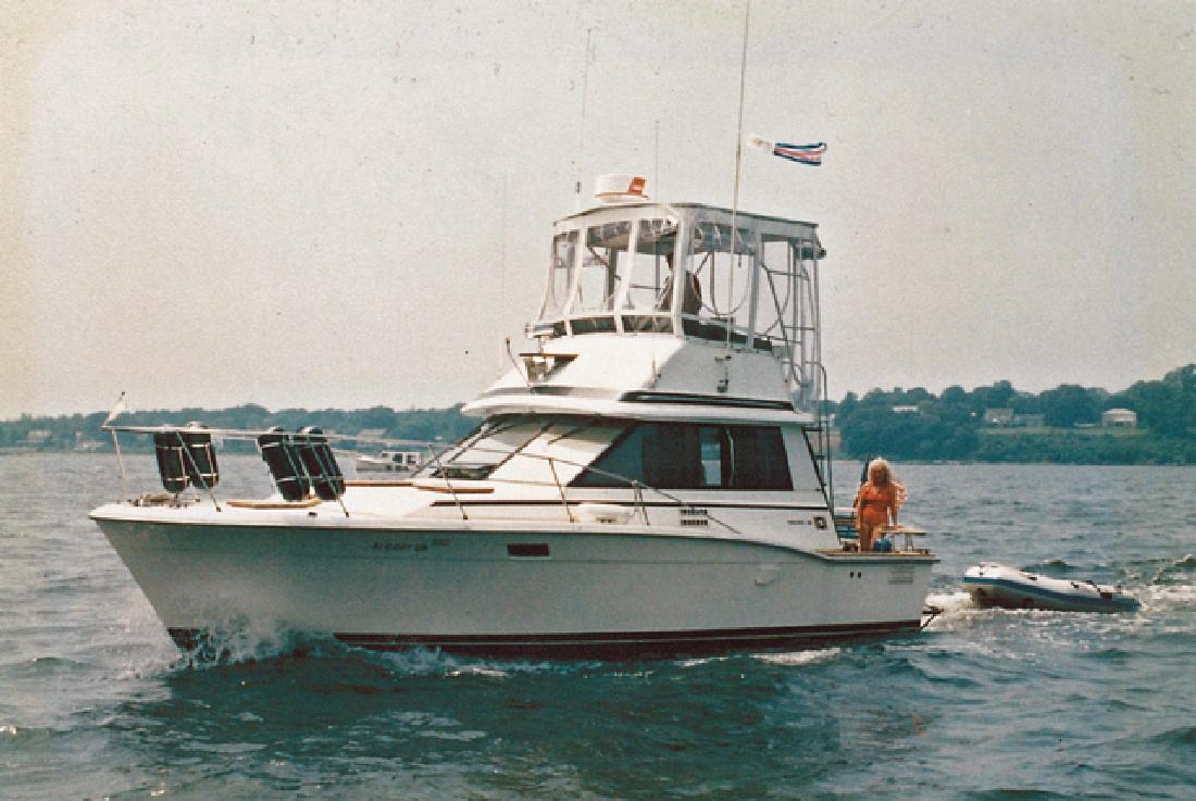 1979 32' Trojan F32 for sale in Warwick, Rhode Island | All Boat Listings. ...