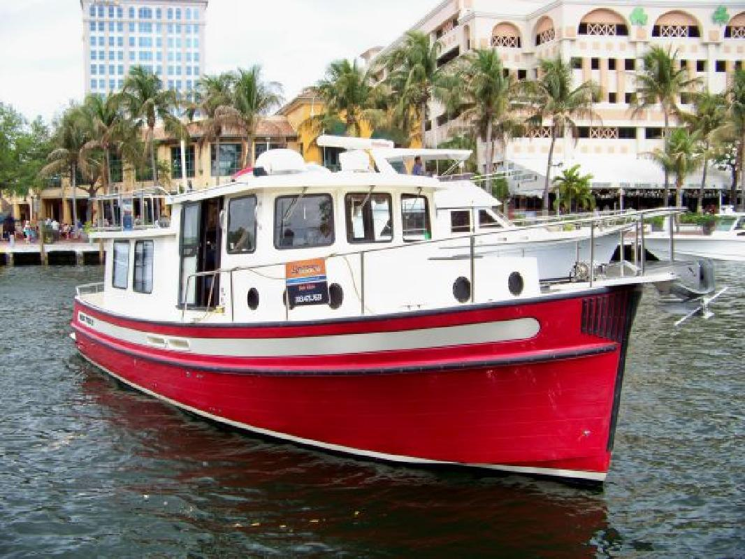 Mini Tug Boats for Sale http://fortlauderdale.allboatlistings.com/33301/fishing-boats/2000-37-nordic-tugs-trawler_17221580.html