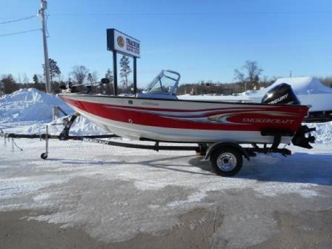 Smoker craft new and used boats for sale in minnesota for Used fishing boats for sale mn