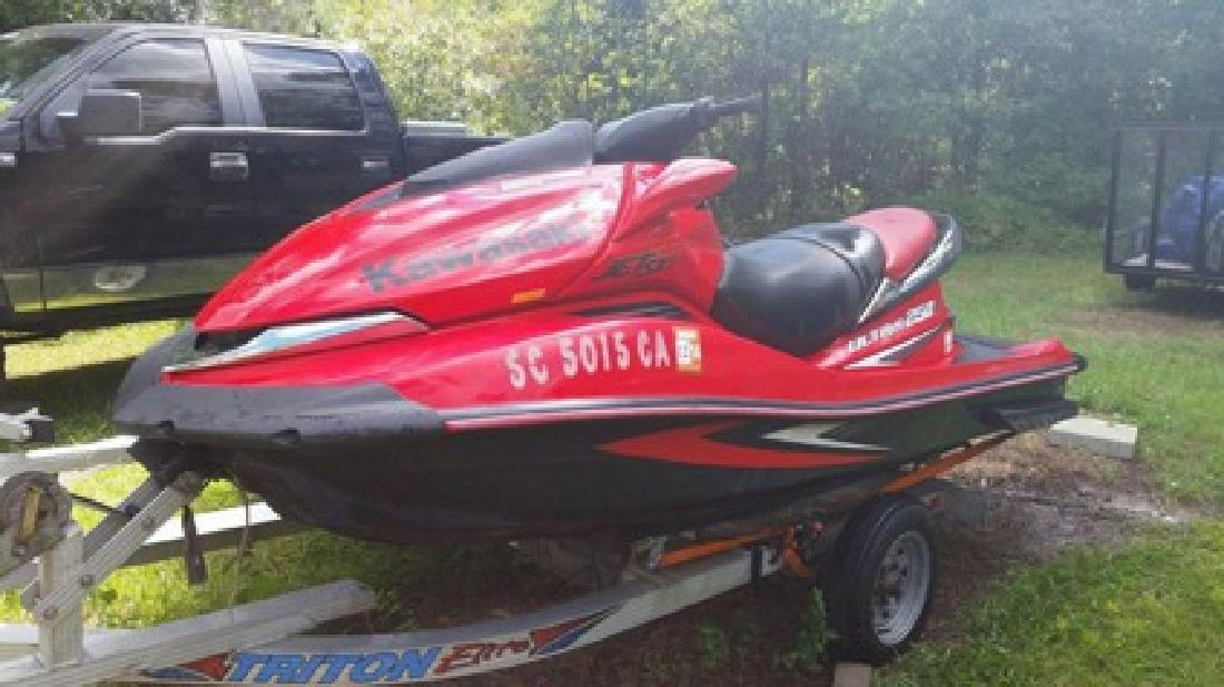 $5,500 OBO 2007 Kawasaki Ultra 250x Supercharged