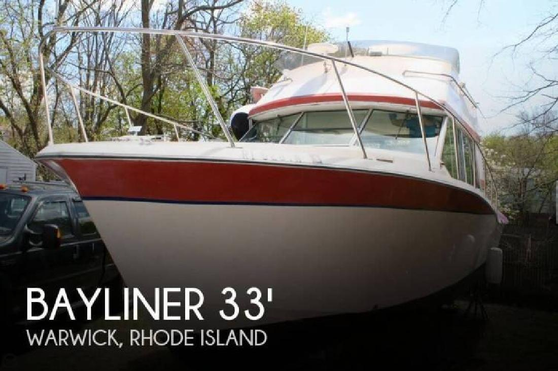 1974 Bayliner 33 Uniflight Warwick RI