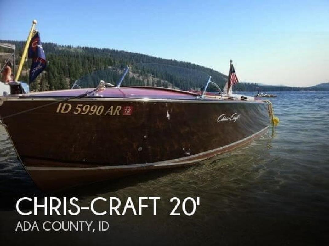 1955 Chris Craft 20 Utility Boise ID