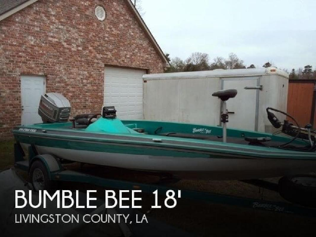 1995 Bumble Bee Boats Pro V 180 Denham Springs LA