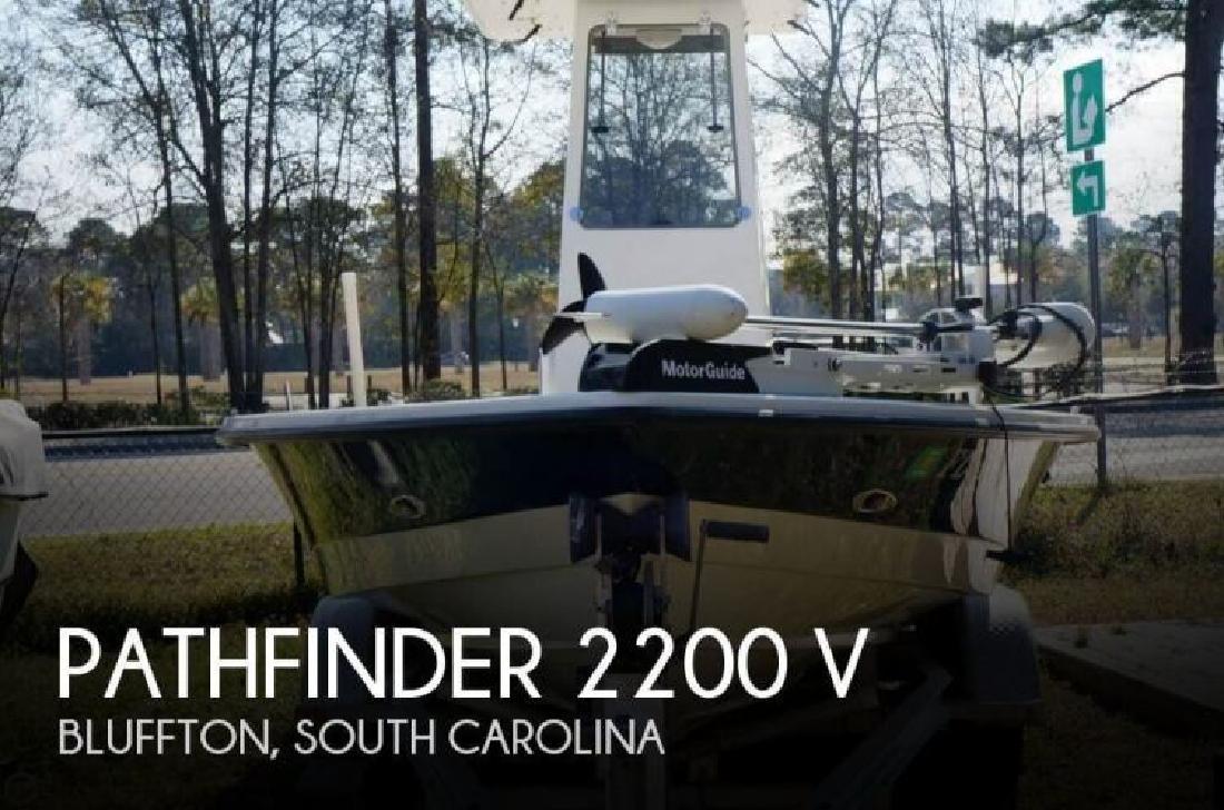 2001 Pathfinder Boats 2200 V Bluffton SC