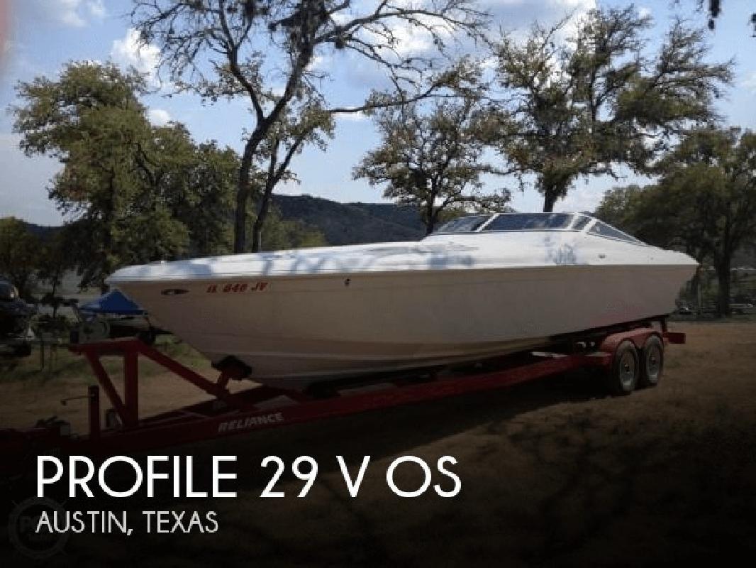 2000 Profile Boats 29 V OS Austin TX