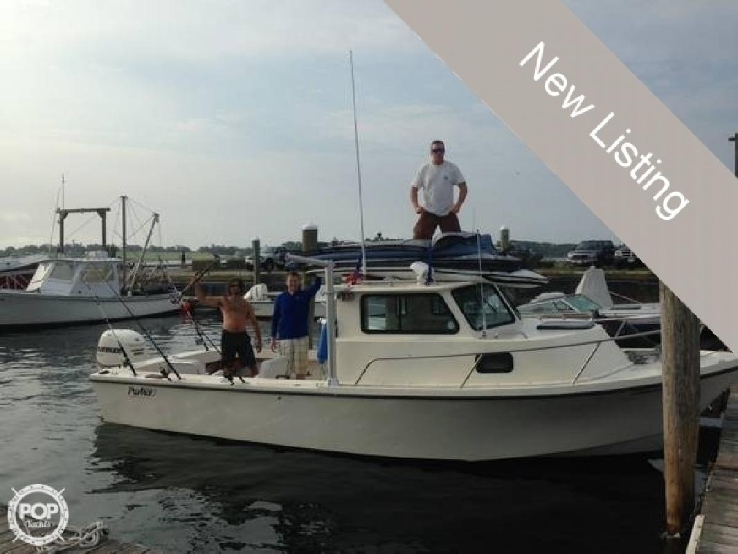 1988 Parker Marine 25 Modified Vee Sport Cabin Jamestown RI