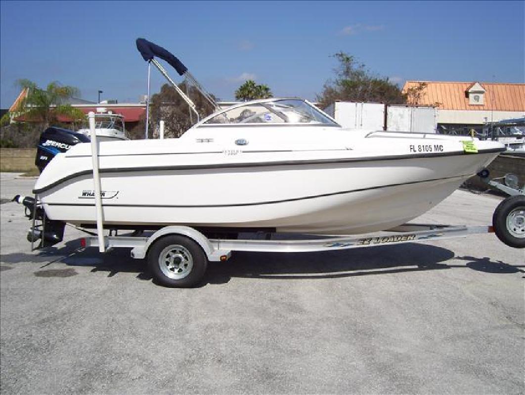 2002 18' Boston Whaler Ventura 180 VT