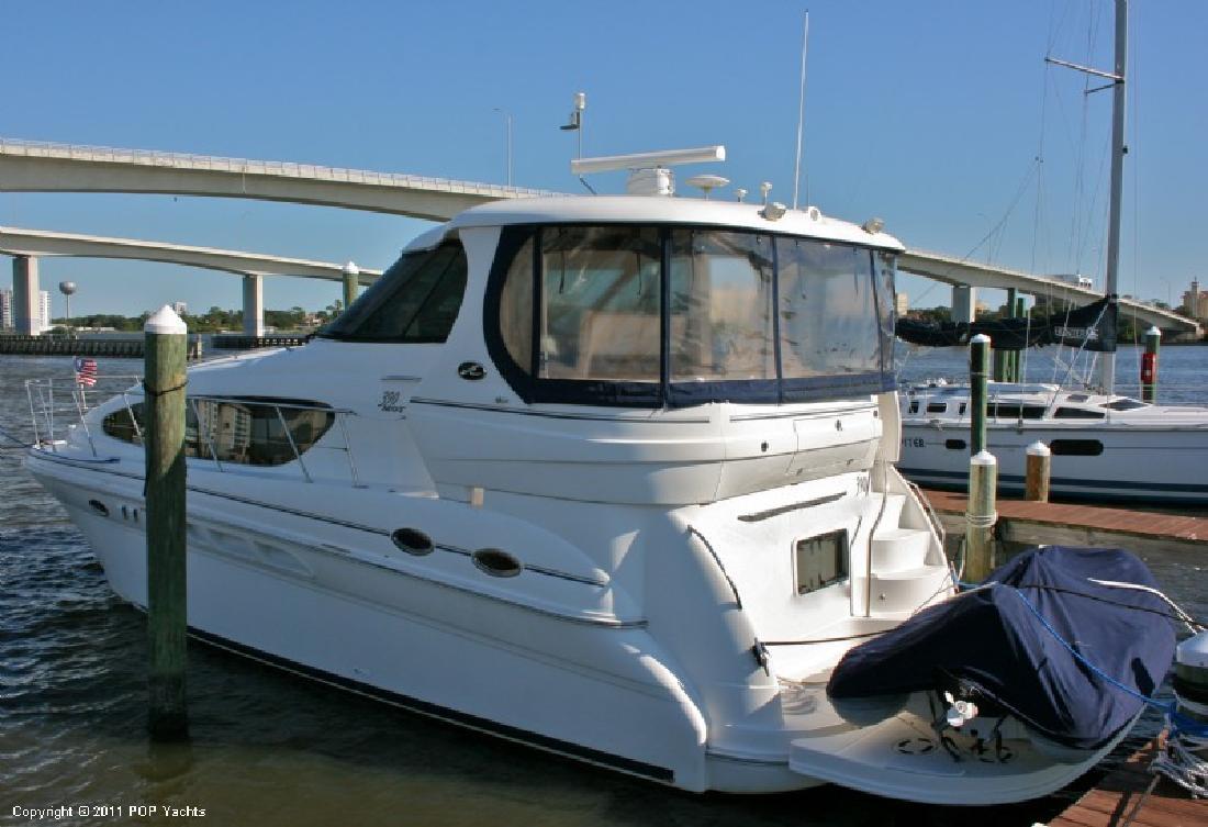 2004 39' Sea Ray 390 MY w/ACM Tender and Hydraulic Swim Platform