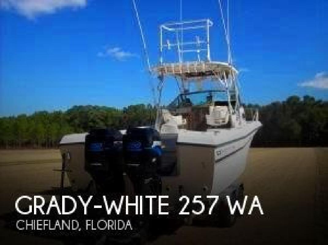 1984 Grady-White Boats 257 WA Chiefland FL