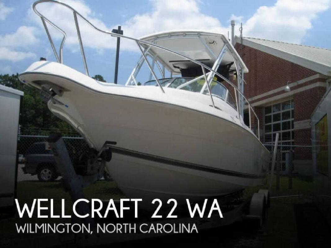 2001 Wellcraft Marine 22 WA Wilmington NC