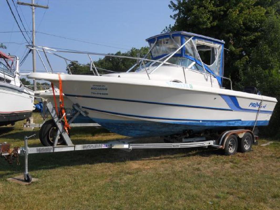 1994 23' Pro-Line Boats, Inc. 231 Walkaround - 2000 Merc 225/Trailer/Trades ...
