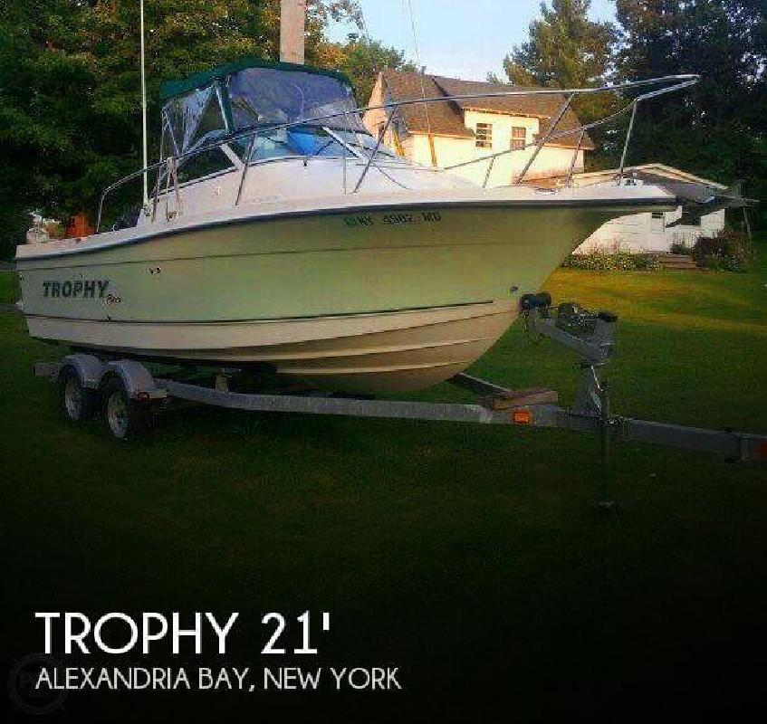 2008 Trophy Boats PRO 2102 Walkaround Alexandria Bay NY