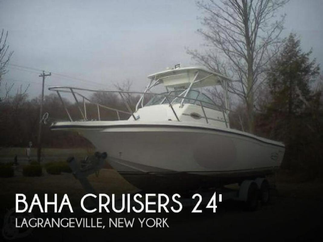 2004 Baha Cruisers 24 Walkaround Lagrangeville NY