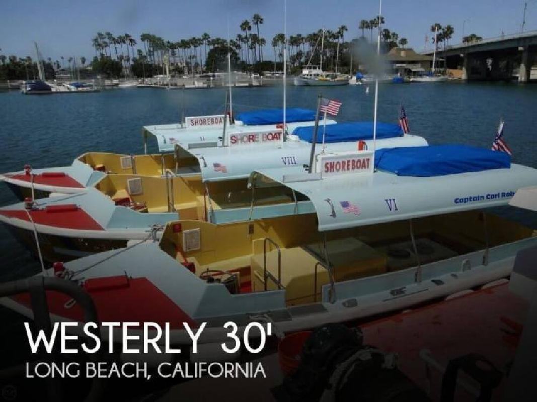 1988 Westerly Marine Custom 30- Water Taxi Long Beach CA