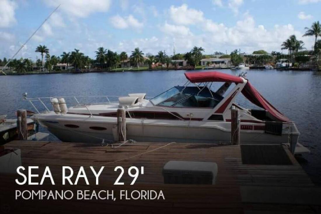 1988 Sea Ray Boats 300 Weekender Pompano Beach FL