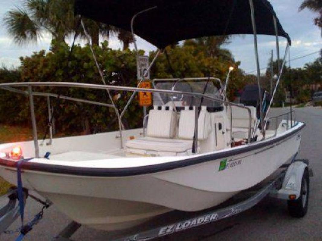 $13,500 2002 17 foot Boston Whaler 170 Montauk for sale in