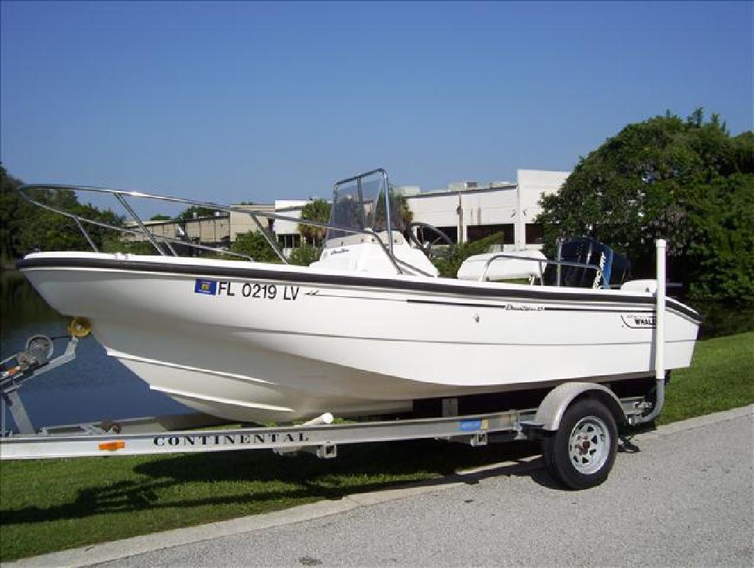 2001 16' Boston Whaler Dauntless 16 in Orlando, Florida