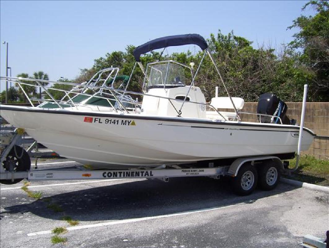 2005 22 Boston Whaler Dauntless 220 For Sale In Orlando