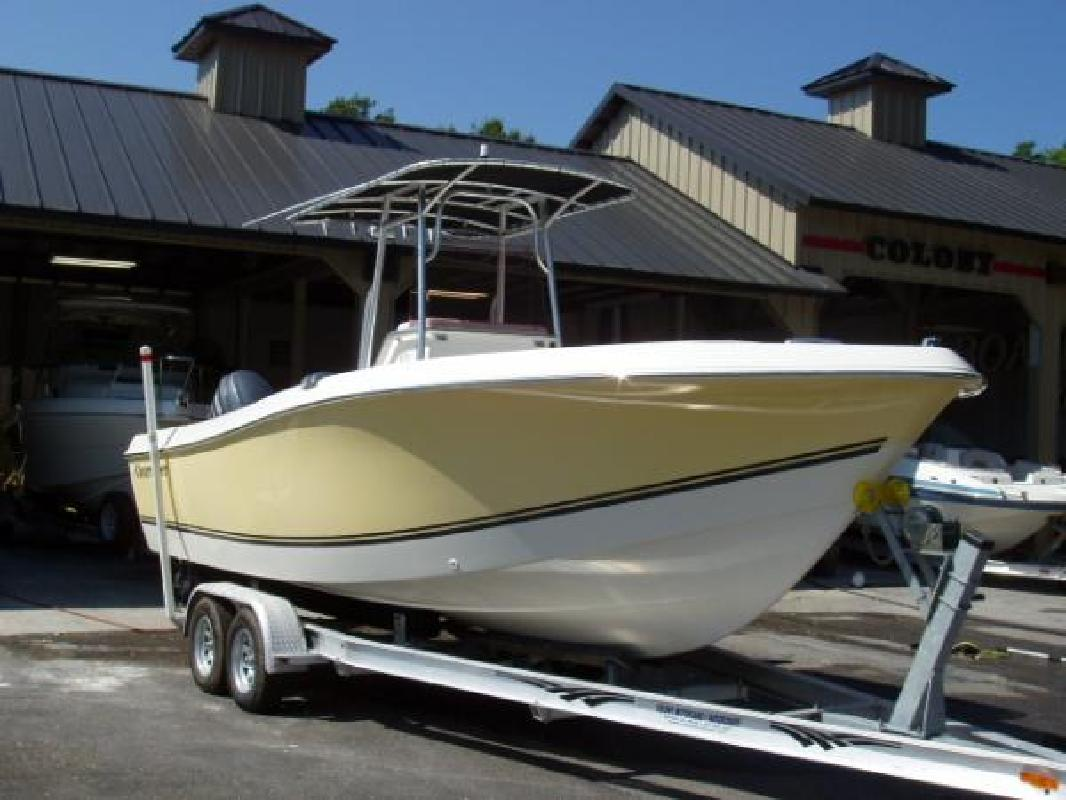 2007 23' Clearwater 2300 Wi Cc Twin 4-Strokes