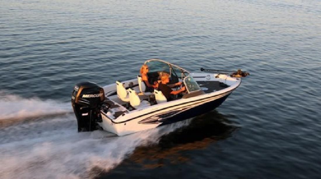 $24,995 2013 Larson FX 1750 DC Fisherman with Mercury 115hp Four Stroke