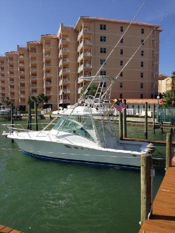 1999 Luhrs Open Express with Tower Clearwater FL